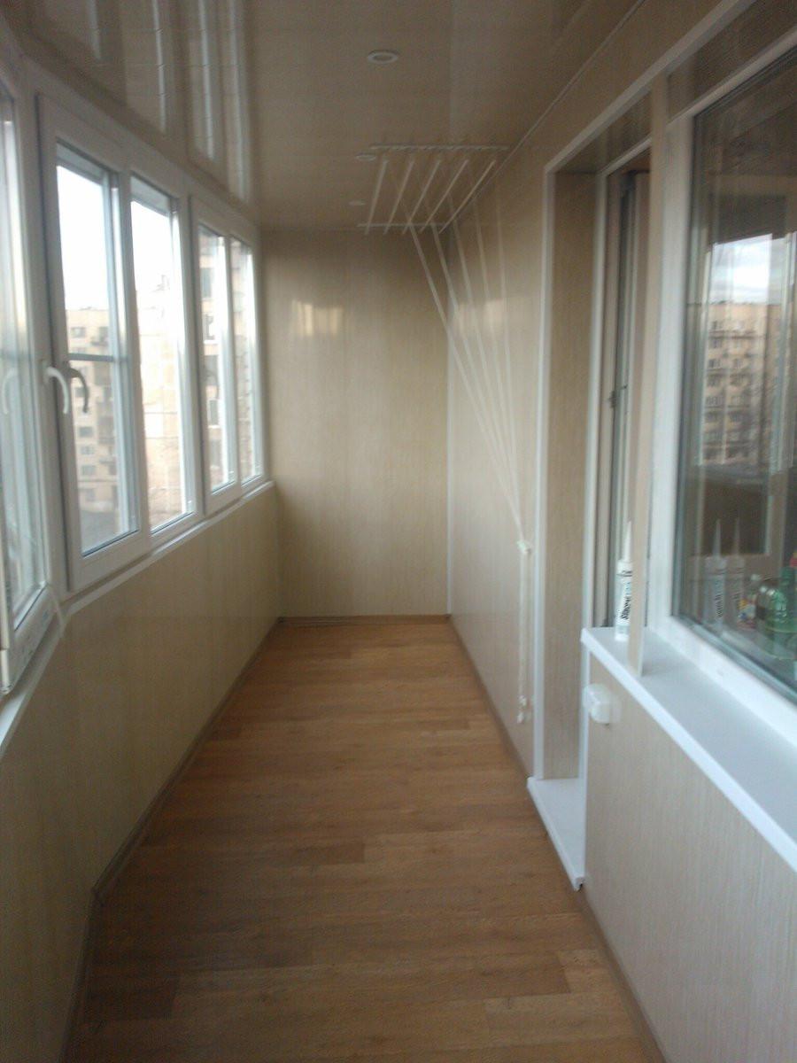 Ремонт квартир под ключ в перми - ремонт балкона.